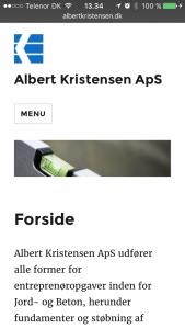 Albert Kristensen ApS mobilvenlig