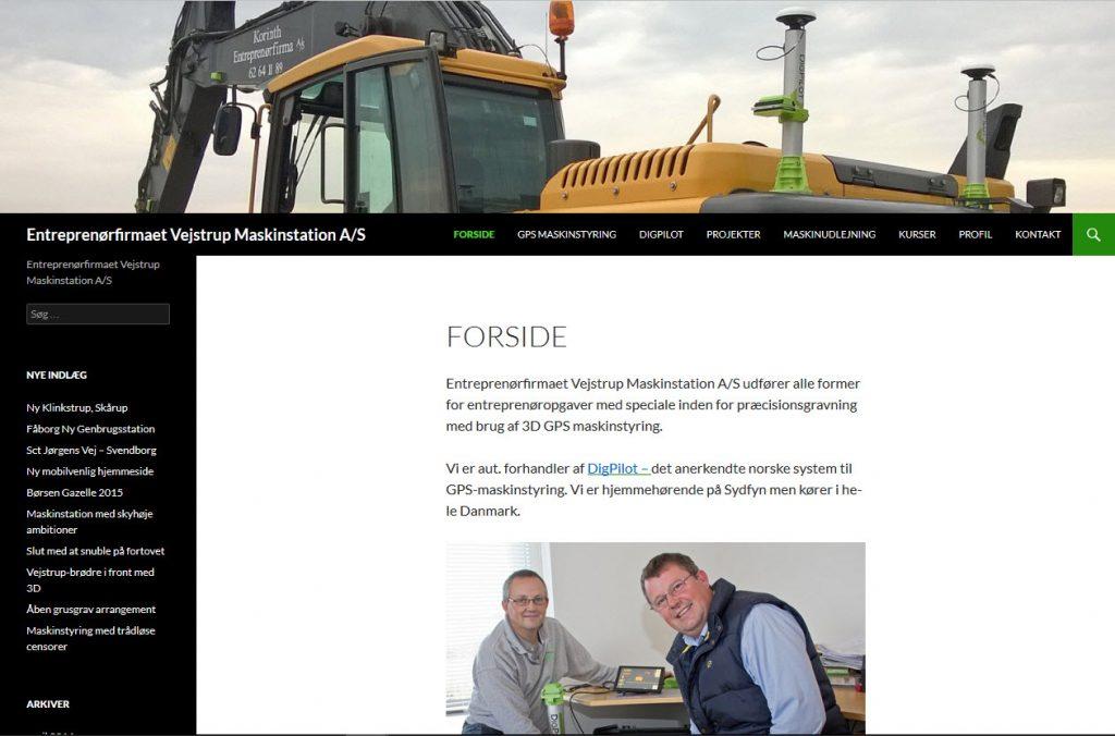 Entreprenørfirmaet Vejstrup Maskinstation ApS